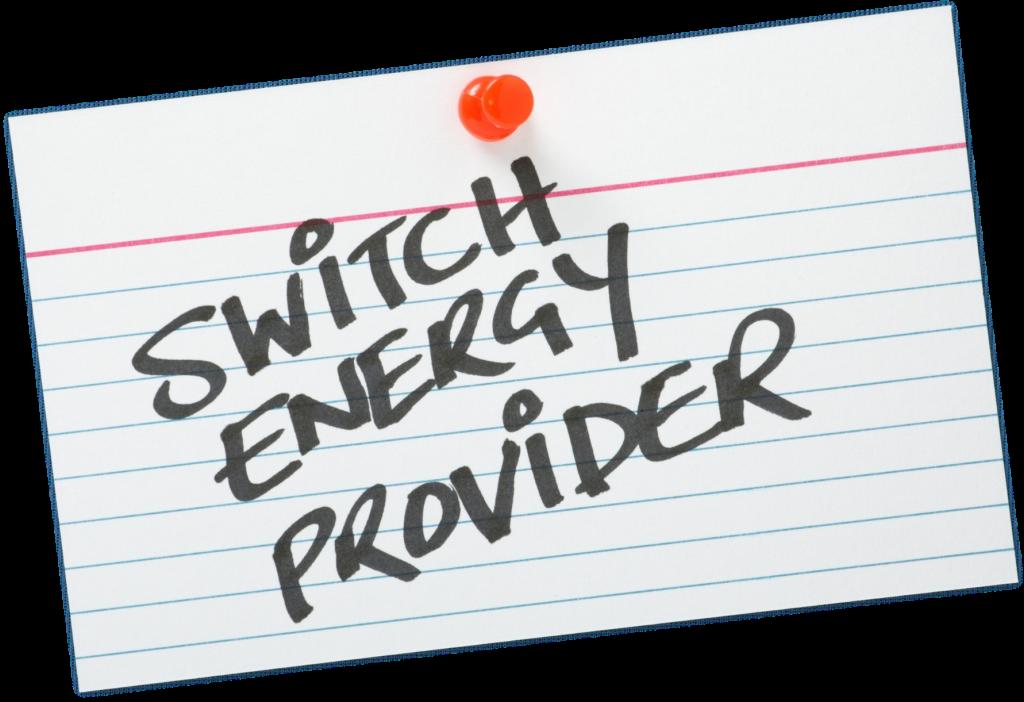 Switch energy provider