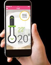 Hub Controller heating app