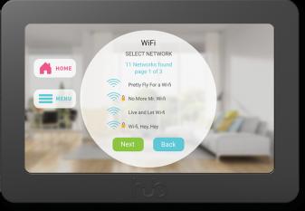 Hub Controller wifi setup